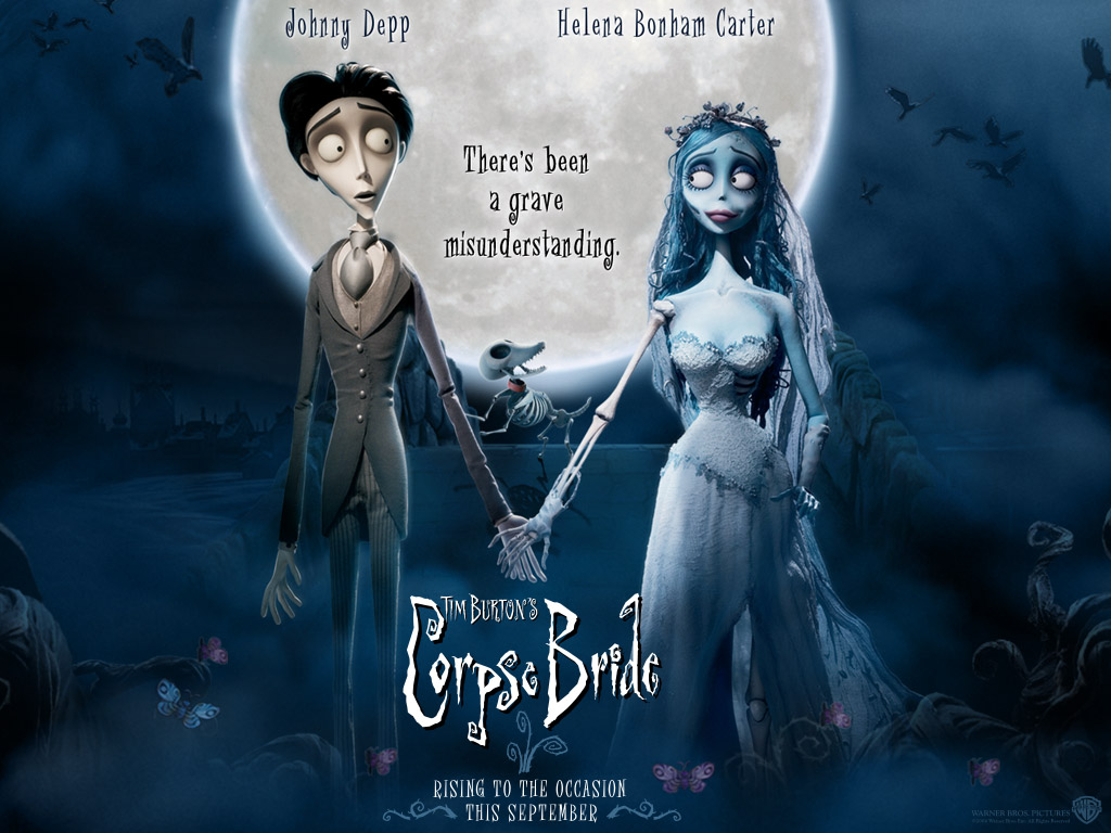of Burton's other stop-motion creation, Nightmare Before Christmas.