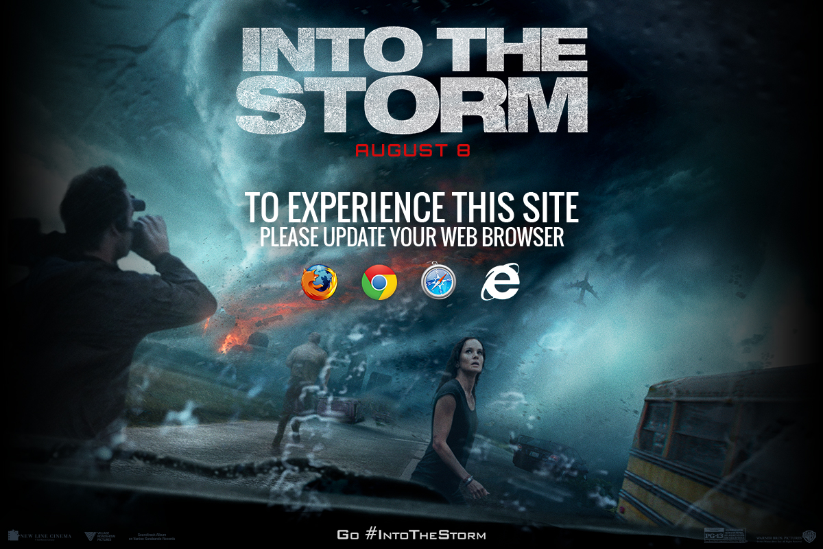 Into the storm official movie site only at cinemas the Go to the website